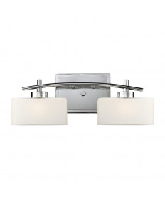 ELK Lighting 17081/2 Eastbrook 2 Light Vanity in Polished Chrome