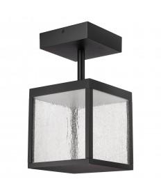 Access Lighting 20084LED-BL/SDG Reveal 120-277v LED Outdoor Semi Flush