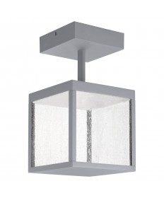 Access Lighting 20084LED-SG/SDG Reveal 120-277v LED Outdoor Semi Flush