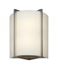 Access Lighting 20451-BS/OPL Vector 2-Light Wall Fixture