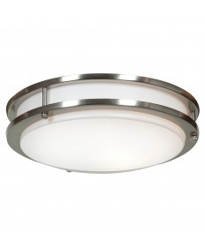 Access Lighting 20464GU-BS/ACR Solero 1-Light Flush Mount