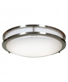 Access Lighting 20465GU-BS/ACR Solero 2-Light Flush Mount