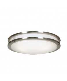 Access Lighting 20466GU-BS/ACR Solero 3-Light Flush Mount