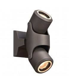 PLC Lighting 2090BZ 2 Light Outdoor LED Vela Collection