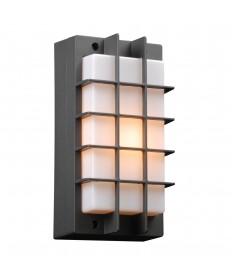 PLC Lighting 2119BZ113GU24 1 Light Outdoor Fixture Lorca Collection