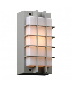 PLC Lighting 2119SL113GU24 1 Light Outdoor Fixture Lorca Collection