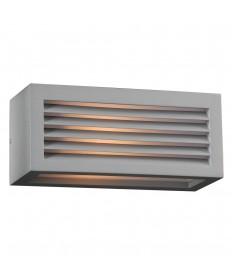 PLC Lighting 2242SL113GU24 1 Light Outdoor Fixture Madrid Collection