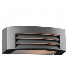 PLC Lighting 2253BZ118GU24 1 Light Outdoor Fixture Luciano Collection
