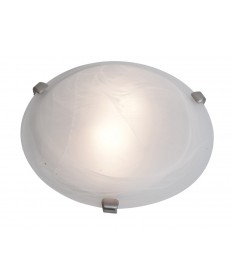 Access Lighting 23019GU-WH/WH Mona Flush-Mount