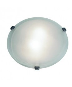 Access Lighting 23019-PB/WH Mona Flush-Mount