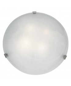 Access Lighting 23021GU-BS/ALB Mona Flush-Mount