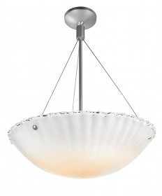 Access Lighting 23077-BRZ/WHT Venus Cable Semi-Flush