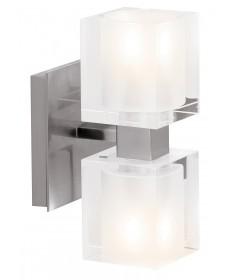 Access Lighting 23906-BS/FCL Astor Crystal Wall-Vanity Fixture