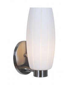 Access Lighting 23970-CH/WHT Pearl Wall Fixture