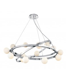 Access Lighting 23980-CH/OPL Nitrogen Cable Articulating Chandelier