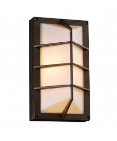 PLC Lighting 2400 BZ 1 Light Outdoor Fixture Expo Collection