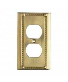ELK Lighting 2500BR Clickplates Brass Switch Plate