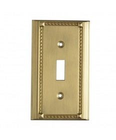 ELK Lighting 2501BR Clickplates Brass Single Switch Plate