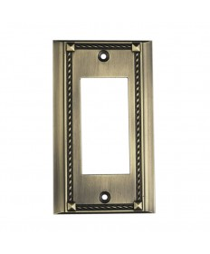 ELK Lighting 2502AB Clickplates Antique Brass Single