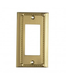 ELK Lighting 2502BR Clickplates Brass Single Switch Plate