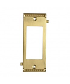 ELK Lighting 2505BR Clickplates Brass Middle Switch Plate