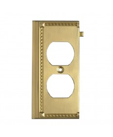 ELK Lighting 2506BR Clickplates Brass End Switch Plate