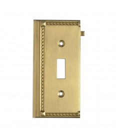 ELK Lighting 2507BR Clickplates Brass End Switch Plate