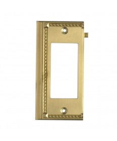 ELK Lighting 2508BR Clickplates Brass End Switch Plate