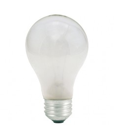 Bulbrite 100025 | 25Watt Incandescent A19 Medium Base Frost 2-Pack