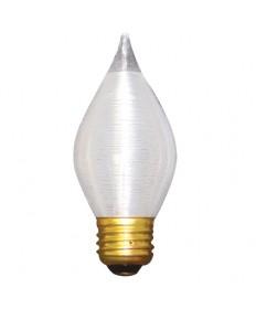 Bulbrite 431025   25 Watt Incandescent C15 Spunlite Chandelier Bulb