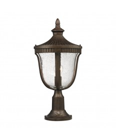 ELK Lighting 27003/1 Worthington 1 Light Outdoor Post Light in Hazelnut Bronze