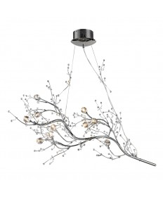 ELK Lighting 30032/10 Viviana Collection 10 Light Chandelier in Chrome