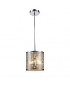 ELK Lighting 31041/1 Medina 1 Light Pendant in Polished Stainless Steel