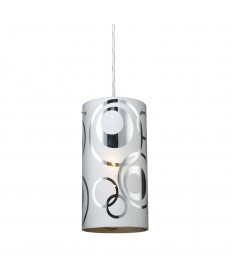 ELK Lighting 31076/1 Chromia 1 Light Pendant in Polished Chrome