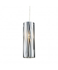 ELK Lighting 31078/1 Chromia 1 Light Pendant in Polished Chrome