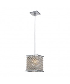 ELK Lighting 31103/1 Genevieve 1 Light Pendant in Polished Chrome