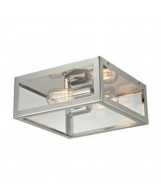 ELK Lighting 31211/2 Parameters-nickel 2 Light Semi-flush in Polished Chrome