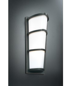 PLC Lighting 31915 ORB 2 Light Outdoor Fixture Alegria Collection