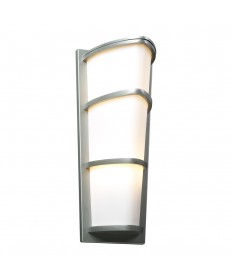 PLC Lighting 31915SL226GU24 1 Light Outdoor Fixture Alegria Collection