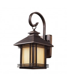ELK Lighting 42100/1 Blackwell 1 Light Outdoor Wall Sconce in Hazelnut Bronze