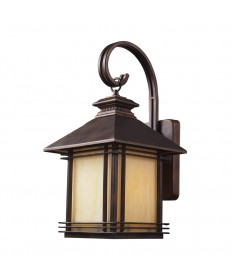 ELK Lighting 42101/1 Blackwell 1 Light Outdoor Wall Sconce in Hazelnut Bronze