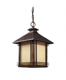 ELK Lighting 42103/1 Blackwell 1 Light Outdoor Pendant in Hazlenut Bronze