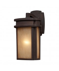 ELK Lighting 42140/1 Sedona 1 Light Outdoor Sconce in Clay Bronze