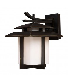 ELK Lighting 42171/1 Kanso 1 Light Outdoor Sconce in Hazelnut Bronze