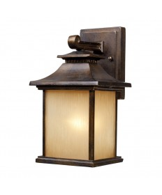 ELK Lighting 42180/1 San Gabriel 1 Light Outdoor Sconce in Hazelnut Bronze