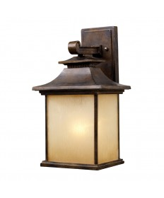 ELK Lighting 42181/1 San Gabriel 1 Light Outdoor Sconce in Hazelnut Bronze