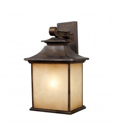 ELK Lighting 42182/1 San Gabriel 1 Light Outdoor Sconce in Hazelnut Bronze