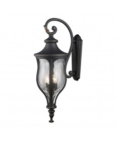 ELK Lighting 42252/4 Grand Aisle 4 Light Outdoor Wall Mount in Weathered Charcoal