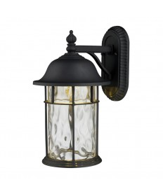 ELK Lighting 42260/1 Lapuente 1 Light Outdoor Title 24 Compliant LED Wall Mount in Matte Black