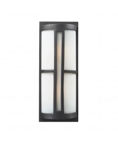 ELK Lighting 42396/2 Trevot 2 Light Outdoor Sconce in Graphite
